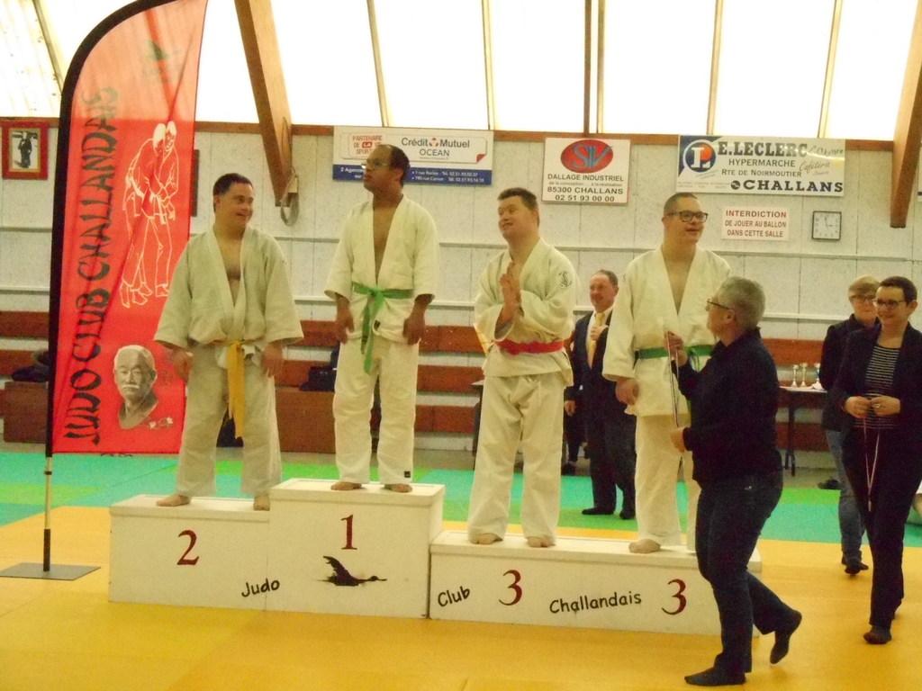 Tournoi De Judo Sport Adapte De Challans 13 Janvier 2019